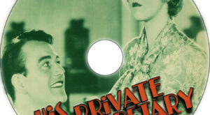 His Private Secretary dvd label