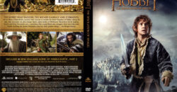 Hobbit 2 Desolation of Smaug dvd cover
