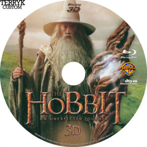 Hobbit, The (Blu-ray 3D) Label