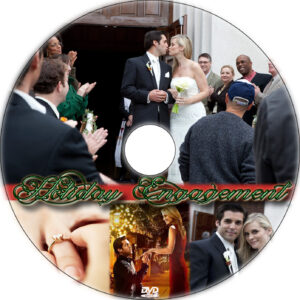 Holiday Engagement dvd label
