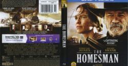 Homesman blu-ray dvd cover