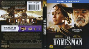 Homesman blu-ray dvd cover