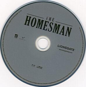 Homesman blu-ray dvd label