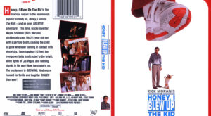 Honey, I Blew Up the Kid - R1 dvd cover