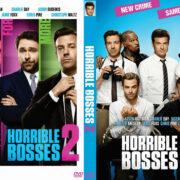 Horrible Bosses 2 (2014) Custom DVD Cover