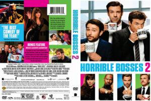 Horrible Bosses 2 dvd cover