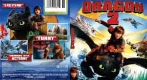 How to Train Your Dragon 2 dvd cover