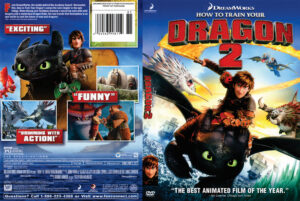 How To Train Your Dragon 2 DVD Cover (2014) R1