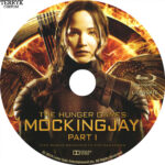 The Hunger Games: Mockingjay Part 1 Custom Blu-Ray Label