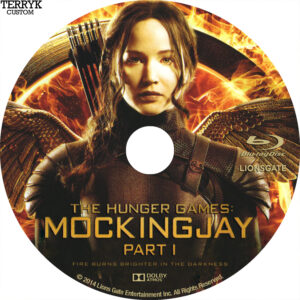 Hunger Games Mockingjay Part 1 (Blu-ray) Label