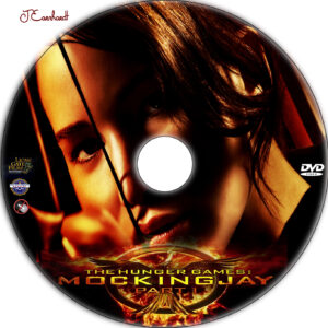 The Hunger Games: Mockingjay - Part 1 dvd label