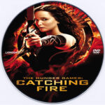 The Hunger Games: Catching Fire (2013) R0 Custom DVD Label