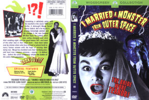 I Married a Monster From Outer Space - R1 dvd cover