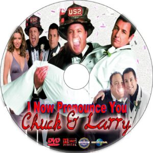 I Now Pronounce You Chuck & Larry cd cover