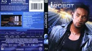 I, Robot (Blu-ray) dvd cover