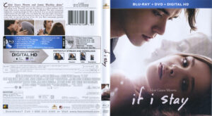 If I Stay blu-ray dvd cover
