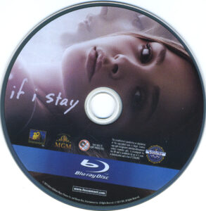 If I Stay blu-ray dvd label