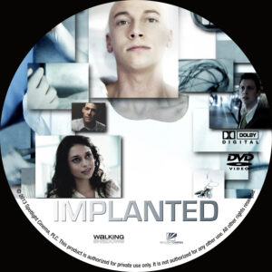 implanted dvd label