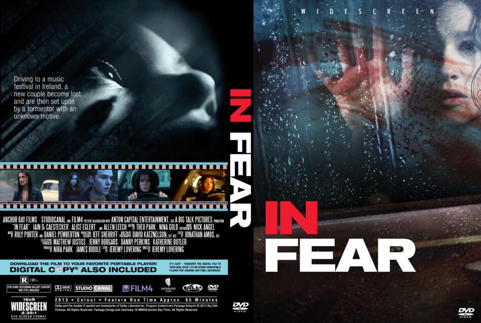 In Fear dvd cover