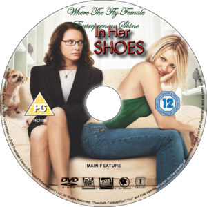 In Her Shoes dvd label