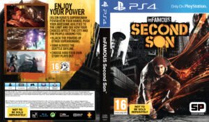 InFamous Second Son PAL Cover