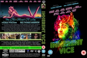 Inherent Vice dvd cover
