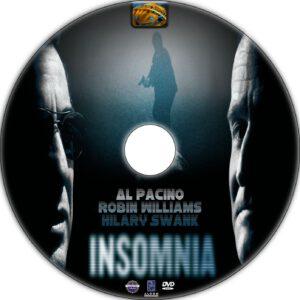 Insomnia dvd label