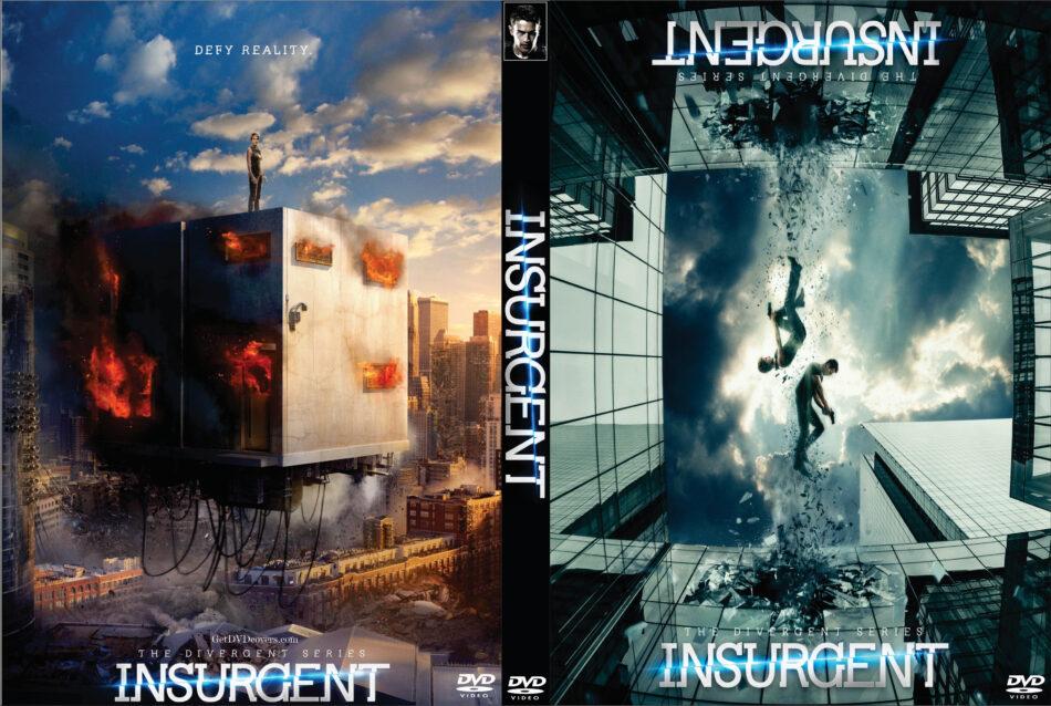 Insurgent Dvd Cover 2015 R0 Custom Art