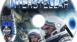 Interstellar dvd label