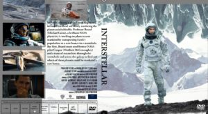 INTERSTELLAR dvd cover