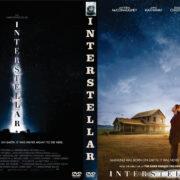 Interstellar (2014) Custom DVD Cover