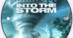Into the Storm dvd label
