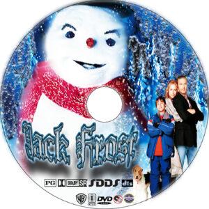 Jack Frost dvd label