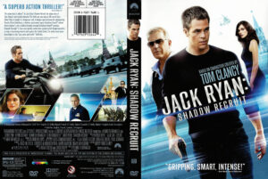 Jack Ryan: Shadow Recruit dvd cover
