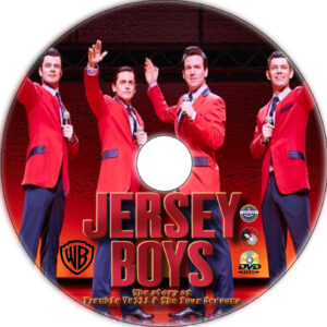 Jersey Boys dvd label