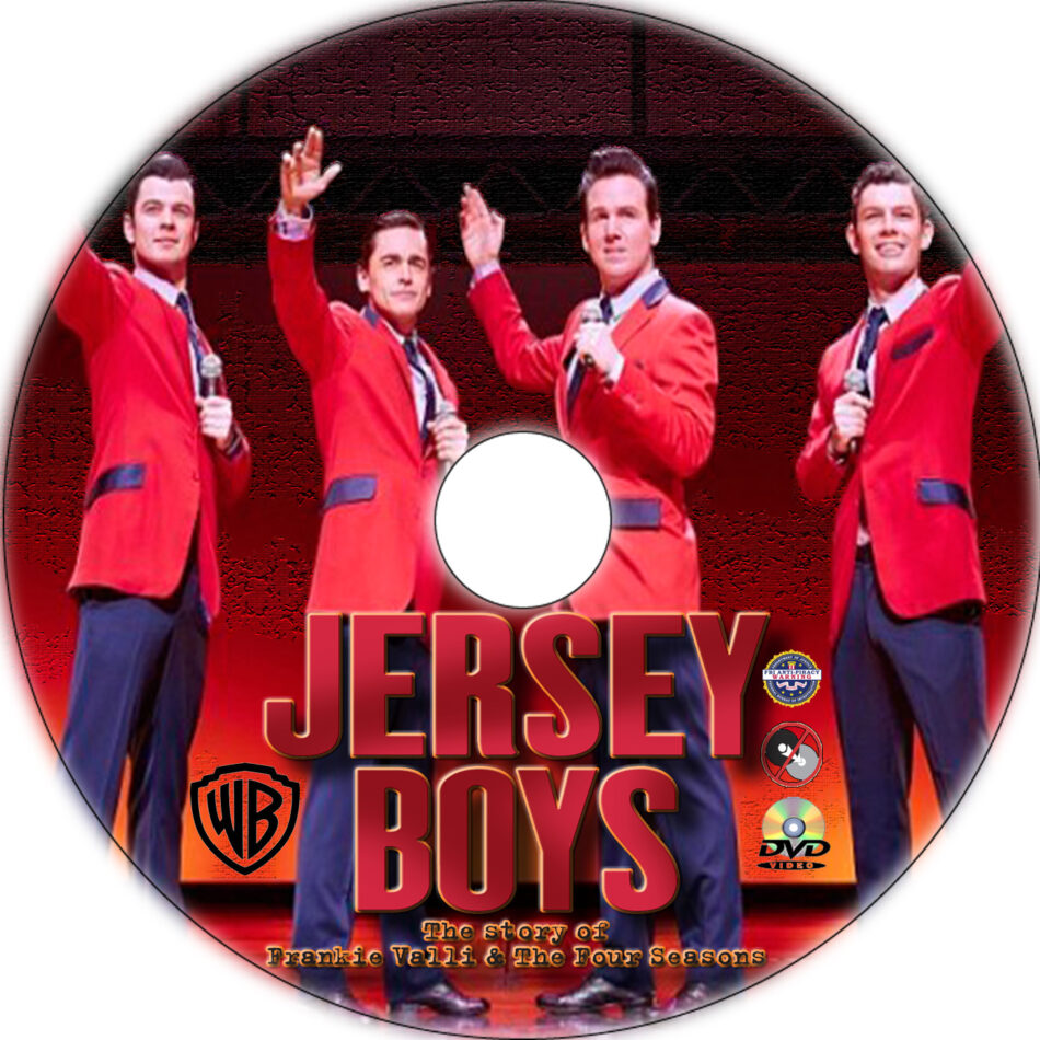 Jersey Boys dvd label