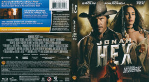Jonah Hex (Blu-ray) dvd cover