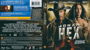 Jonah Hex (Blu-ray) dvd cover