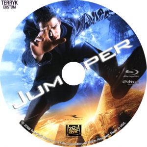 Jumper (Blu-ray) dvd label