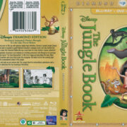 The Jungle Book (1967) Blu-Ray DVD Cover