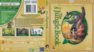 The Jungle Book dvd cover
