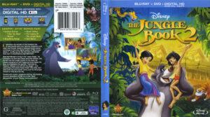 The Jungle Book 2 blu-ray dvd cover