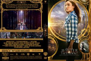 Jupiter Ascending dvd cover