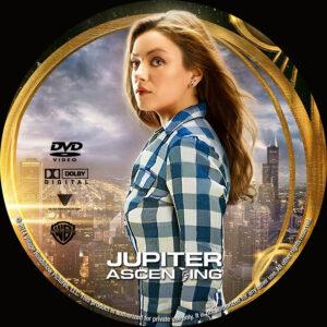 Jupiter Ascending dvd label