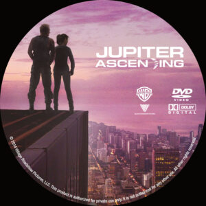 Jupiter Ascending dvd label