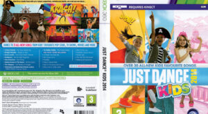 Just Dance Kids 2014 dvd cover