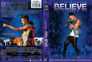 Justin Bieber's Believe dvd cover