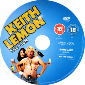 Keith Lemon The Film Disc