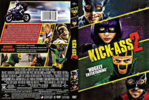 Kick-Ass 2 dvd cover