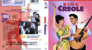 King Creole dvd cover